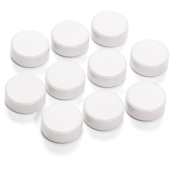 SuperMagnet Ø 34 mm, white, 10/set