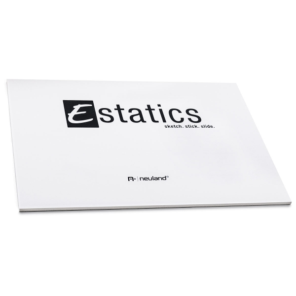 Estatics Pad A5, white